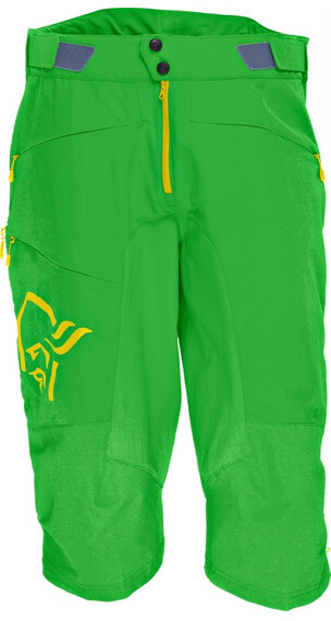 Norrøna M's Fjørå flex1 Shorts Green Mamba